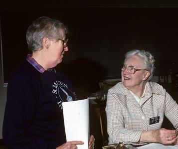 Helena Kirkwood with Christel Goetz