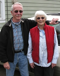 Claude and Margaret Dilly at Trout Lake