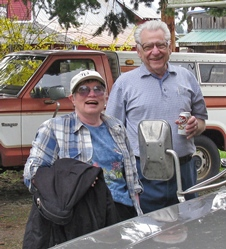 Dick and Agnes Sieger at Trout Lake