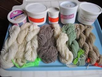 mordants wool