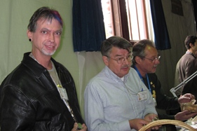 Tom Volk, Phil Carpenter and Henry Young