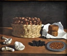 Still Life with Basket of Chestnuts
